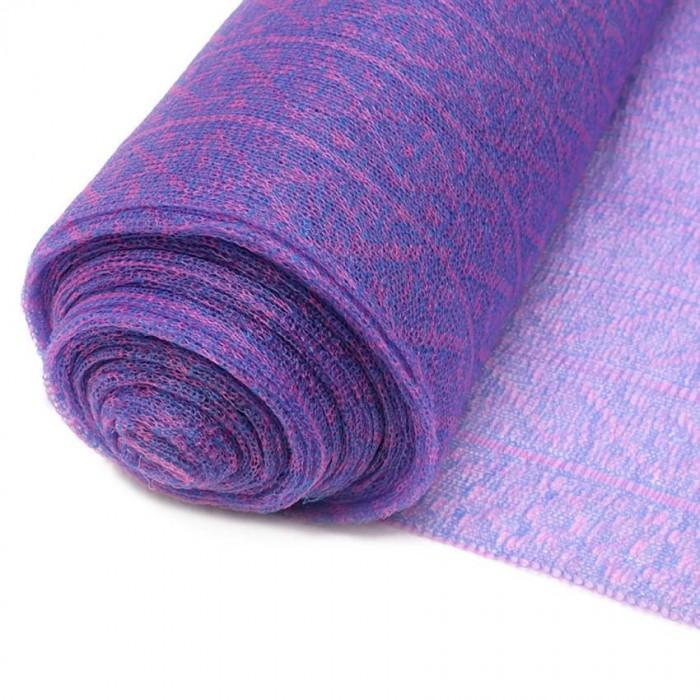 Tulle plastique recyclé violet