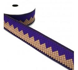 Rubans Ruban Afro - Violet - 35 mm babachic