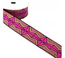 Ribbons African ribbon - Pink - 35 mm babachic