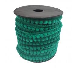 Los minis Gálon de mini pompones - Céladon - 10 mm babachic