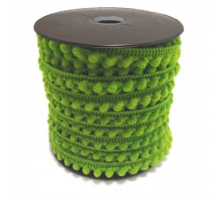 The minis Mini pompom - Green apple - 10 mm babachic