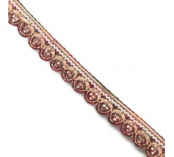 Braid Bright trim - Multi - 18 mm babachic