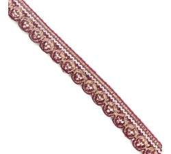 Braid Bright trim - Fushia - 18 mm babachic
