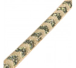 Braid Jute ribbon - 25 mm babachic