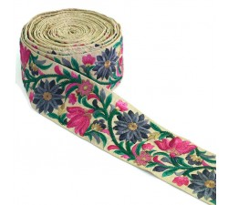 Broderies Bordure Soie - 80 mm Babachic by Moodywood