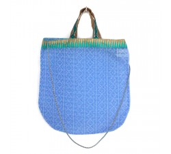 Bags Golden light blue tote bag Babachic by Moodywood