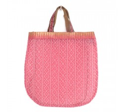 Sacs transparents Tote bag doré et rose Babachic by Moodywood
