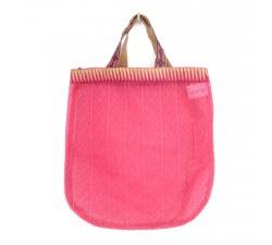 Transparent handbag Golden pink tote bag Babachic by Moodywood