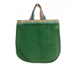 Bolsos transparentes Tote bag dorado y verde Babachic by Moodywood