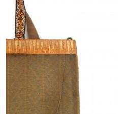 Bolsos transparentes Tote bag dorado y amarillo Babachic by Moodywood