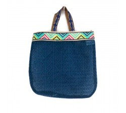 Sacs Tote bag graphique et bleu Babachic by Moodywood
