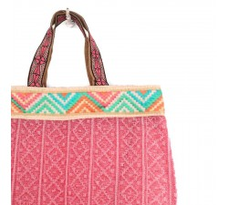 Bolsos transparentes Tote bag gráfico y rosa claro Babachic by Moodywood
