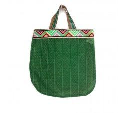 Bolsos transparentes Tote bag gráfico y verde Babachic by Moodywood