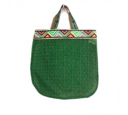 Sacs transparents Tote bag graphique et vert Babachic by Moodywood