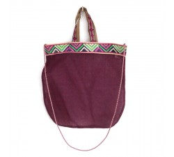Sacs transparents Tote bag graphique et magenta Babachic by Moodywood