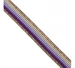 Braid Purple Rainbow ribbon - 15 mm Babachic by Moodywood