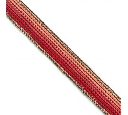 Braid Coral Rainbow ribbon - 15 mm Babachic by Moodywood