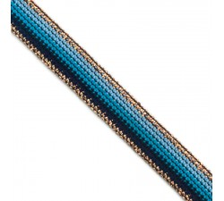 Braid Blue Rainbow ribbon - 15 mm Babachic by Moodywood