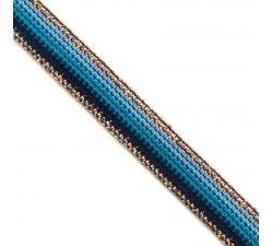 Braid Blue Rainbow ribbon - 15 mm Babachic by Moodywood