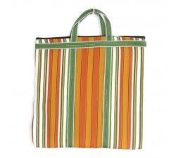 Tote bags Bolso indio simple con rayas naranjas y verdes Babachic by Moodywood