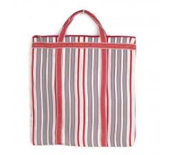 Tote bags Bolso indio simple con rayas rojo y blanco Babachic by Moodywood