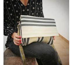 Handbags Petit sac à main à rabat, jaune pâle et noir Babachic by Moodywood