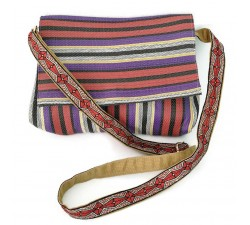 Handbags Plum and purple small flap handbag Babachic by Moodywood