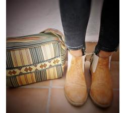 Handbags Sac - trousse de toilette jaune et noir Babachic by Moodywood