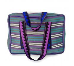Sacs XXL Sac Week-end bleu et violet Babachic by Moodywood