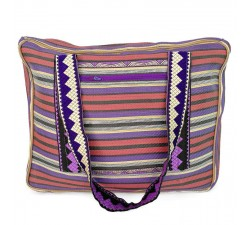 XXL bags Plum and purple Weekend bag Babachic by Moodywood