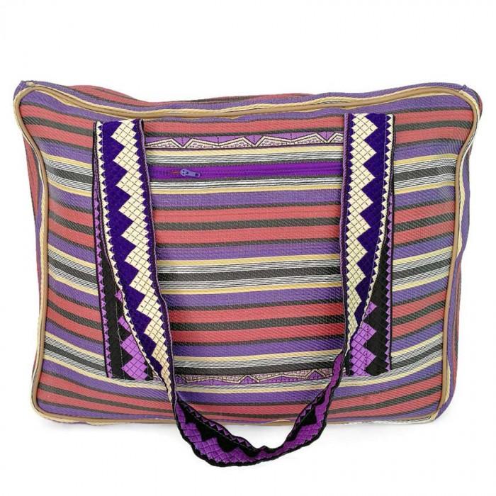 Plum and purple Weekend bag