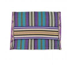 Portes-monnaie Porte monnaie ethnique bleu et violet Babachic by Moodywood