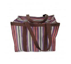 Tote bags Sac à main ou sac de rangement petit format prune et violet Babachic by Moodywood