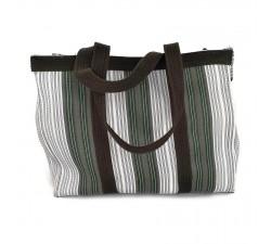 XXL bags Khaki shopping bag or medium storage bag Babachic by Moodywood