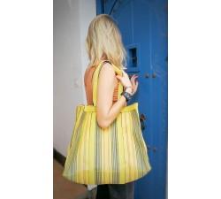 Bolsos XXL Bolsa de compras o bolsa de almacenamiento mediana amarillo Babachic by Moodywood