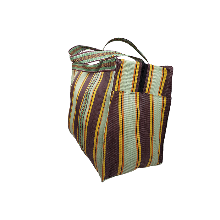 RP Thin Anis - Cubic Shopping Bag  Anis