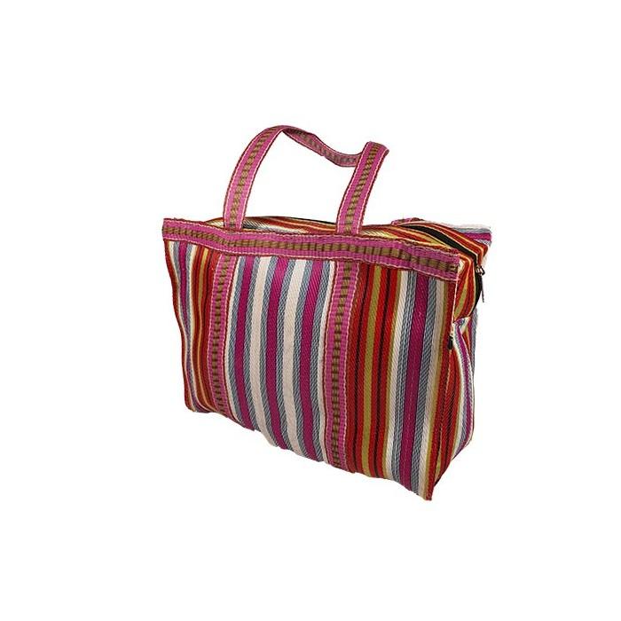 RP Thin Fucsia White - Cubic Shopping Bag  Anis
