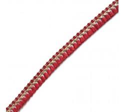 Fringe Tassels ribbon - Red - 15 mm