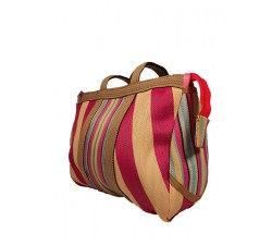Home Bulbi Bag - Skypink is a bowling style bag made of reprocessed plastic wastes