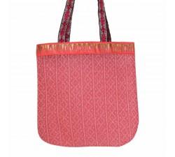 Bolsos transparentes Tote bag dorado y rosa claro Babachic by Moodywood