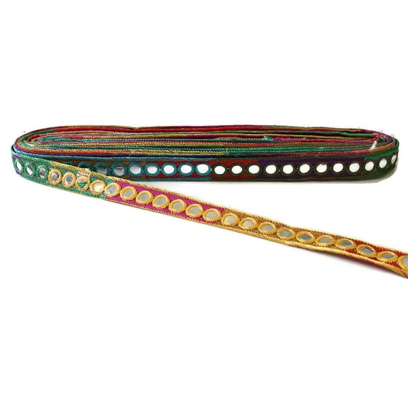 Mirrors braid - Multicolor - 20 mm