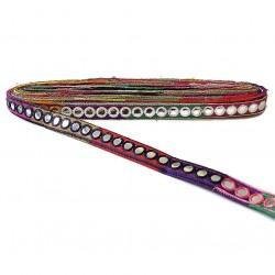 Galónes Galón espejos - Multicolores - 20 mm