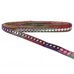 Braid Mirrors braid - Multicolor - 20 mm
