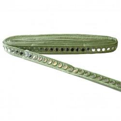 Galónes Galón espejos - Verde - 20 mm babachic