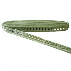 Galons Galon miroirs - Vert - 20 mm babachic
