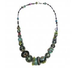 Collares Collar medio largo azul claro -Winter nights Babachic by Moodywood