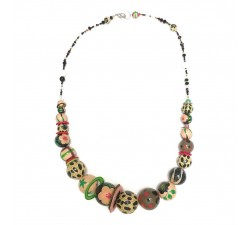 Collares Collar medio largo beige/negro - Winter nights Babachic by Moodywood