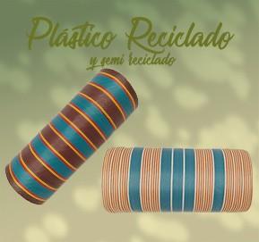 plástico reciclado y semi
