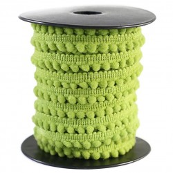The minis Mini pompom - Light green - 10 mm babachic