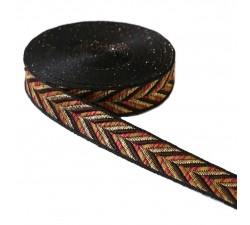 Ribbons Ruban - Chevron - Beige - 25 mm babachic